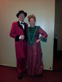 Myself and Jennifer as Mr. and Mrs. Fezziwig
