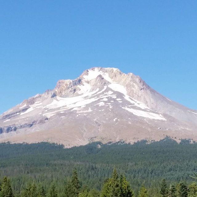 Mt Hood up close #nofilter