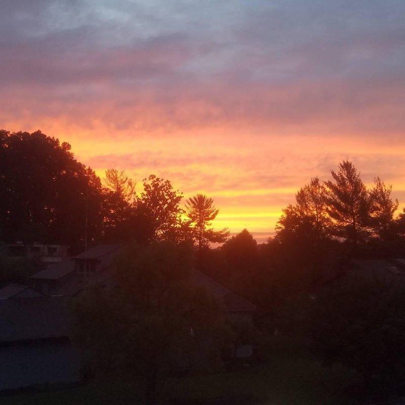 WV sunset.