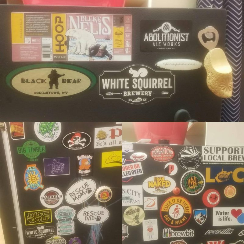 Beer Fridge Bling