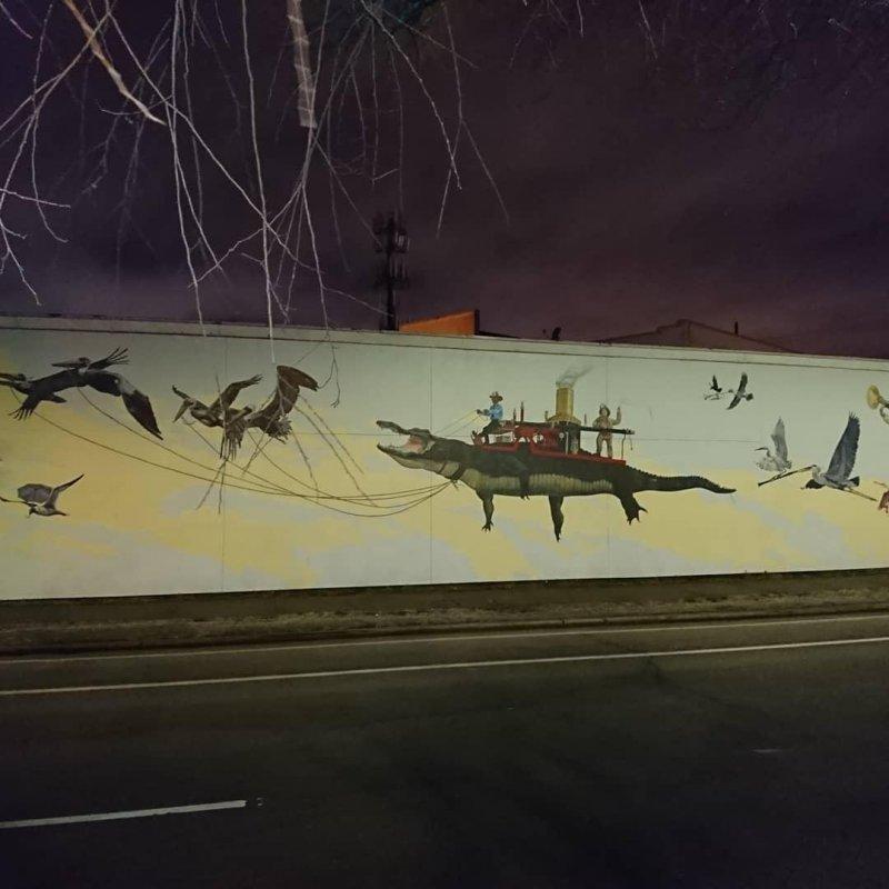 Firehouse mural