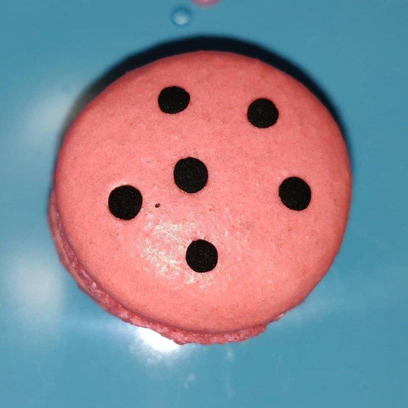 Watermelon Macaron @huntingtonmacarons
