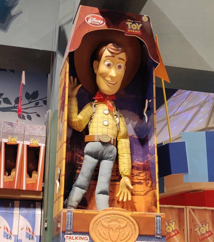That's a ........big Woody