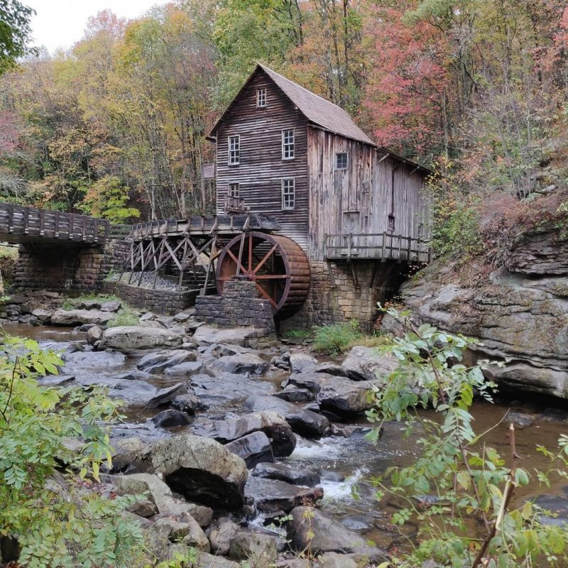 Grist Mill #motorcycle