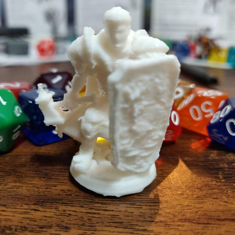 Cleric printed for a friend #3dprinting